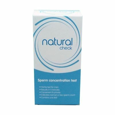 Natural Check Sperm Concentration Test 1 2 3 6 12 Packs