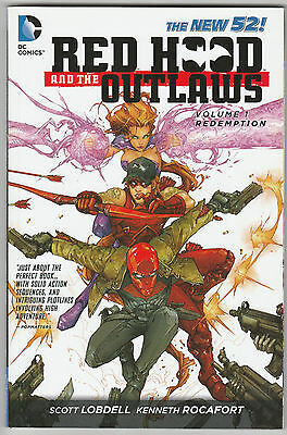 Red Hood & The Outlaws Vol. #1 Redemption (2nd Print) TPB 2012 New 52 VF+