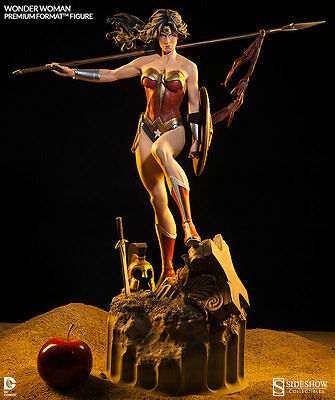 Sideshow Collectibles Wonder Woman Premium Format Figure Exclusive #1587/3500