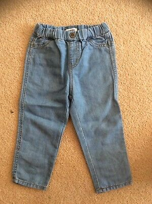 Country Road! Designer Brand Pull On Lightweight Skinny Jeans, As New, Sz 18-24M
