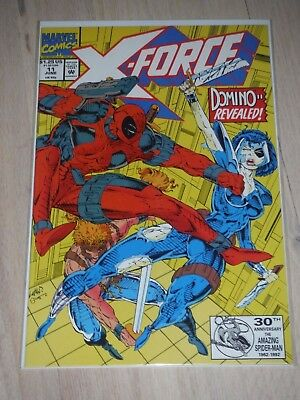 X-Force #11 Marvel Comics,1992 1St App Domino Rare Nm/vf