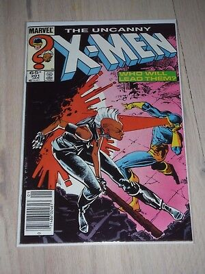 The Uncanny X-Men #201 VF/Fine 1st appearance of Nathan Summers AKA Cable!!!!
