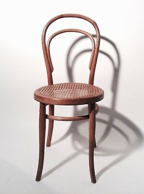 Originaler thonet stuhl 14 1 2 unrestauriert for Thonet stuhl 14