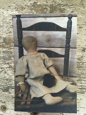 Early Primitive Farmhouse Note Cards with Envelopes Set of Five
