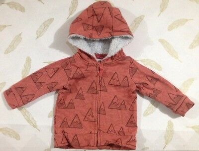 Sprout Boys Jumper Hoodie Size 0