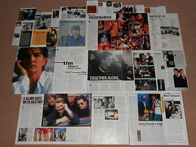 30+ NEIL & TIM FINN / CROWDED HOUSE Magazine Clippings