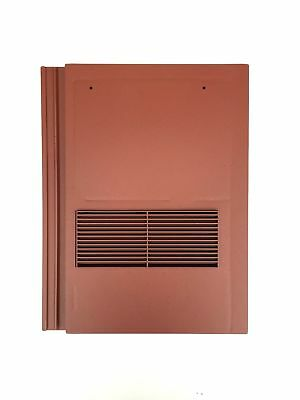 Roof Tile Vent To Fit Marley Modern, Redland Mini Stonewold | Red | 8 Colours
