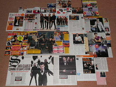 30+ THE KILLERS Magazine Clippings