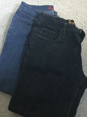 Two pairs of mens Boden jeans size 38r