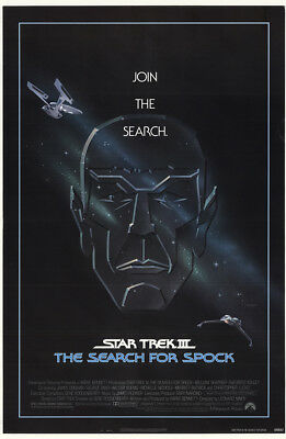 Star Trek III: The Search For Spock 1984 27x41 Orig Movie Poster FFF-12031