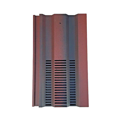 Roof Tile Vent To Fit Redland 49, Marley Ludlow Plus | Old English Red Smooth