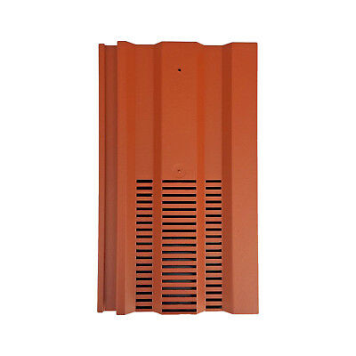 Roof Tile Vent To Fit Redland 49 Marley Ludlow Plus | Terracotta | 15 Colours