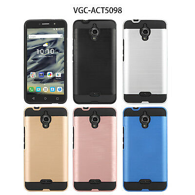 ALCATEL PIXI THEATRE OT-5098O case [Scratch/Dust Proof] Dual Layer (VGC)