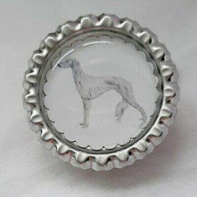 Saluki Dog Show Ring Clip by Curiosity Crafts