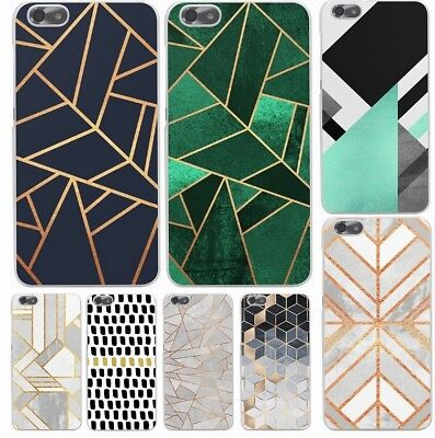 Marble Line Luxury Hard Cover Case for huawei P8 P9 Lite