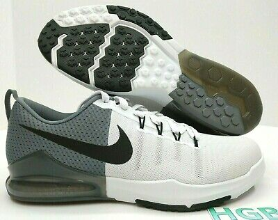 more photos 89a34 d2427 Nike Zoom Train Action Mens Black White Grey Running Training 852438-100 NIB