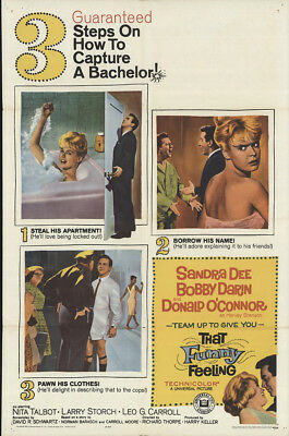 That Funny Feeling 1965 27x41 Orig Movie Poster FFF-15941 Fine, Very Good