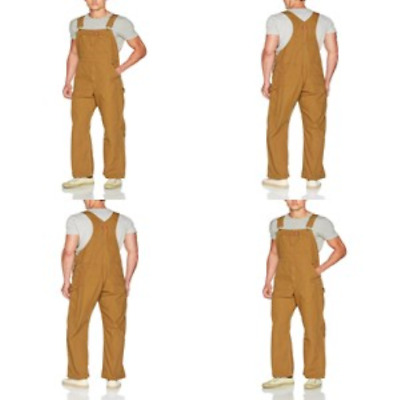 Dickies Mens Premium Insulated Bib Overall Short Super-reinforced Back Pockets
