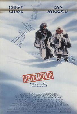 Spies Like Us 1985 27x41 Orig Movie Poster FFF-11561 Rolled Dan Aykroyd