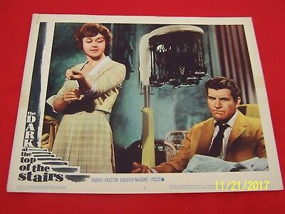 Dark at the Top of the Stairs 1960 Lobby Card #5-Robert Preston.Dorothy McGuire