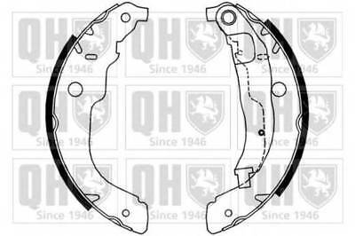 PEUGEOT 207 1.6D Brake Shoes Rear 2006 on Set 1619229680 4241N3 424220 424244