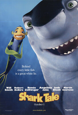 Shark Tale 2004 27x41 Orig Movie Poster FFF-11317 Rolled Robert De Niro