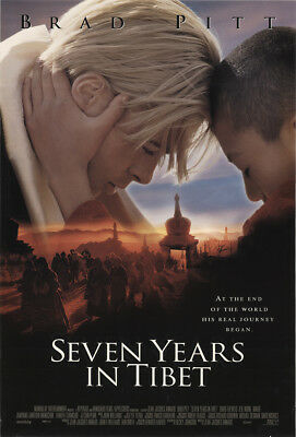 Seven Years in Tibet 1997 27x41 Orig Movie Poster FFF-11178 Rolled Brad Pitt