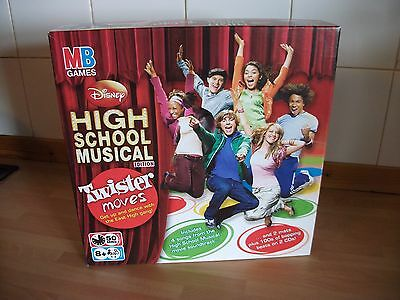 MB - Twister Moves - Disney High School Musical Edition DVD Game