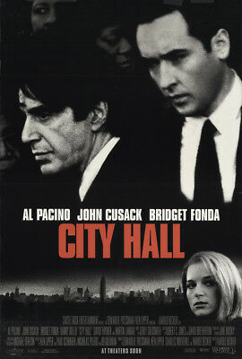 City Hall 1996 27x41 Orig Movie Poster FFF-22143 Rolled Al Pacino