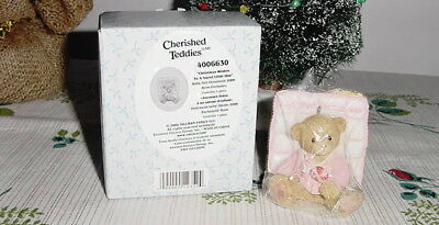"CHERISHED TEDDIES ""CHRISTMAS WISHES"" To A Sweet Little One"" 2006 NEW IN BOX!"