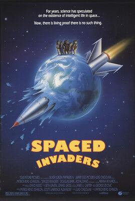 Spaced Invaders 1990 27x41 Orig Movie Poster FFF-21642 Rolled Royal Dano