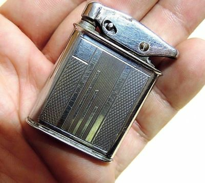 ERHO Benzin FEUERZEUG vintage petrol pocket lighter briquet