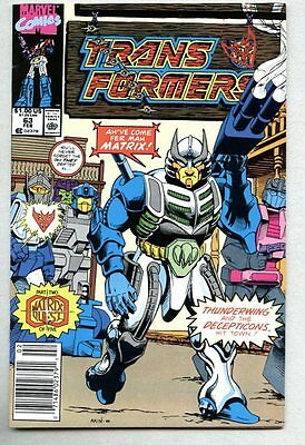 Transformers #63-1990 fn/vf hard to find later issue