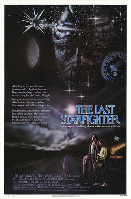 The Last Starfighter 1984 27x41 Orig Movie Poster FFF-19134 Rolled Very Fine