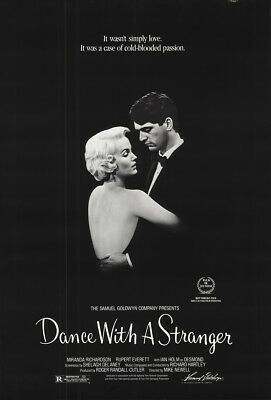 Dance With a Stranger 1985 27x41 Orig Movie Poster FFF-19042 Rolled