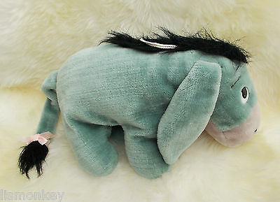 Honeykids Disney Eeyore Novelty Pyjama Case Cushion Soft Plush Cuddly Toy Teddy