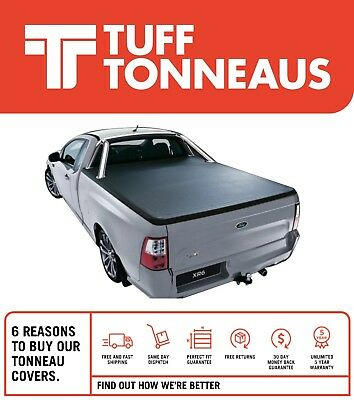 Ford Falcon FG Ute with Sports Bar Clip On Tonneau Cover June 2008 to July 2016