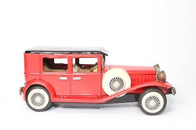 Vintage Bandai Old Timer 1929 Ford Model-A Tin Friction Toy Car