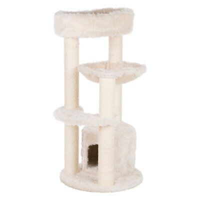 Trixie Pet Products Baza Junior 38.5 in. Cat Tower, White, 38.5