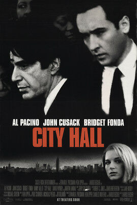 City Hall 1996 27x41 Orig Movie Poster FFF-22350 Rolled Al Pacino