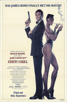 A View To A Kill 1985 27x41 Orig Movie Poster FFF-18251 Fine Roger Moore