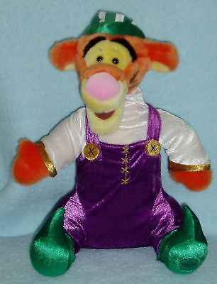 Retired Disney Store Holiday ELF TIGGER - Santa's Helper - Excellent Condition!
