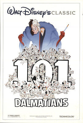 101 Dalmatians 1996 27x41 Orig Movie Poster FFF-20660 Rolled Fine Rod Taylor