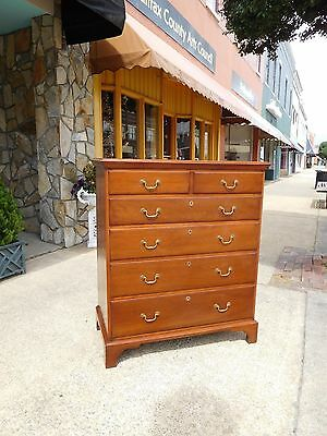 Grand Southern Walnut Shop Made Chippendale Chest By Pug Moore 20th Century