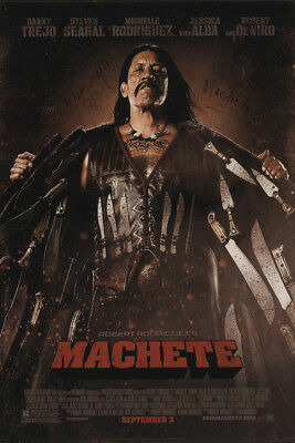 Machete 2010 27x41 Orig Movie Poster FFF-25019 Rolled Robert De Niro