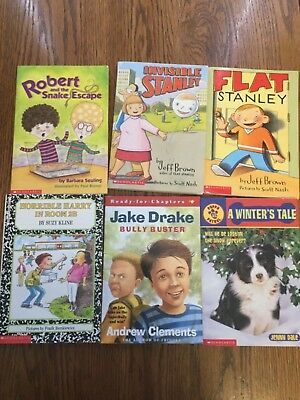 Scholastic chapter books- lot of 6