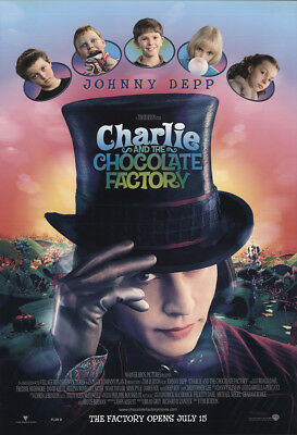 Charlie and the Chocolate Factory 2005 27x41 Orig Movie Poster FFF-24735