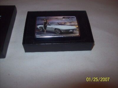 2006 snap on zippo classic corvette lighter