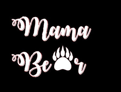 Mama Bear Decal for cars and trucks