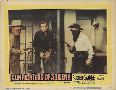 Gunfighters of Abilene 1959 11x14 Orig Lobby Card FFF-29674 Buster Crabbe Wes...